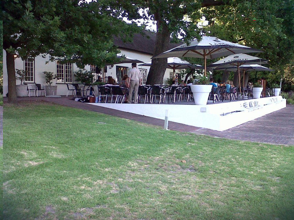 Fine Dining With Children At Laborie In Paarl
